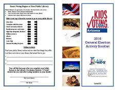 General Election Activity Booklet Worksheet