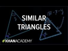 Similar Triangles Video
