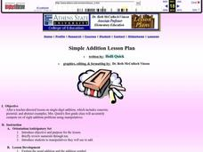 Simple Addition Lesson Plan