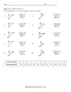 Sine Worksheet