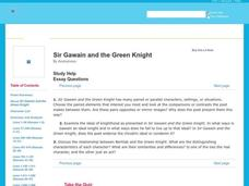 sir gawain and the green knight by anonymous interactive for 9th 12th grade lesson planet. Black Bedroom Furniture Sets. Home Design Ideas