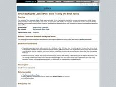 SLAVE TRADING AND SMALL TOWNS Lesson Plan