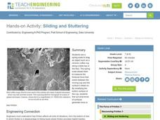 Sliding and Stuttering Lesson Plan