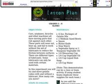 Slime! Lesson Plan