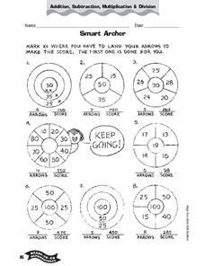Smart Archer Worksheet