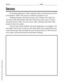 Smoking Worksheet