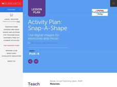 Snap-a-Shape Lesson Plan