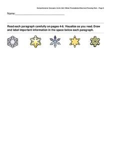 Snowflakes Worksheet