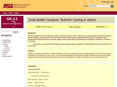 Soda Bottle Compost: Nutrient Cycling in Action Lesson Plan
