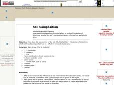 Soil Composition Lesson Plan