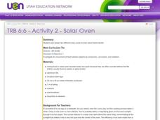 Solar Oven Lesson Plan