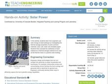 Solar Power Lesson Plan