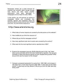 Solar Storms Interactive