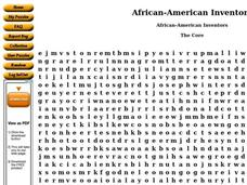 African-American Inventors Worksheet