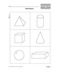 Solid Shapes Worksheet