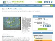 Air Under Pressure Lesson Plan