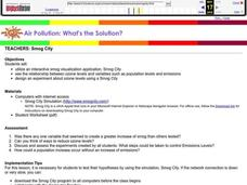 Air Pollution: What's the Solution? Lesson Plan