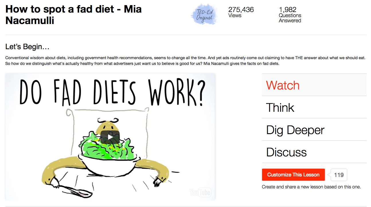 How to Spot a Fad Diet Video
