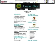 Sound Lesson Plan