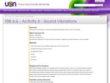Sound Vibrations Lesson Plan