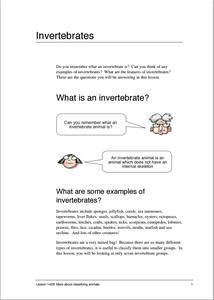 invertebrate lesson plans worksheets reviewed by teachers. Black Bedroom Furniture Sets. Home Design Ideas