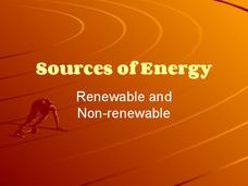 Sources of Energy Presentation