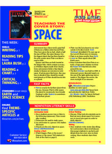 Space Lesson Plan