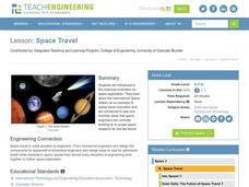 Space Travel Lesson Plan