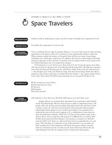 Space Travelers Lesson Plan