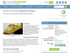 Spaghetti Bridge Lesson Plan