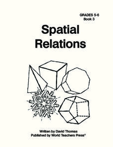 Spatial Relations Worksheet