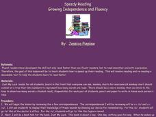 Speedy Reading Lesson Plan