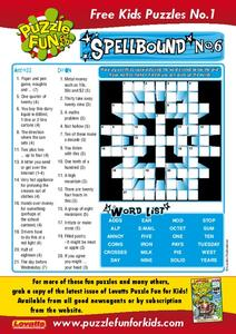 Spellbound Worksheet