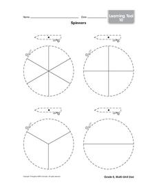 Spinners Printables & Template
