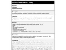 Splash! Lesson Plan