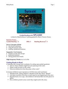 Splash Lesson Plan