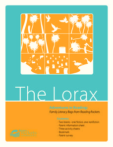 The Lorax Activities & Project