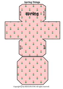 Spring Things Worksheet