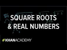 Square Roots And Real Numbers Video