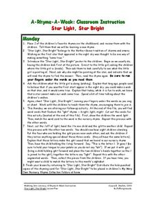 Star Light, Star Bright Lesson Plan