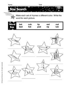 Star Search Worksheet
