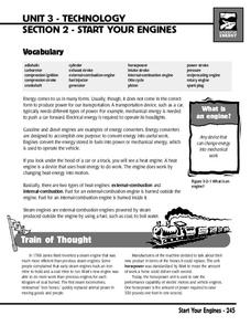 Start Your Engines Printables & Template