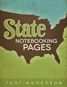 State Notebooking Pages Printables & Template