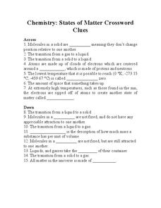 states of matter worksheet for 8th 10th grade lesson planet. Black Bedroom Furniture Sets. Home Design Ideas