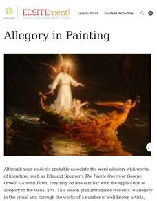 Allegory in Painting Lesson Plan