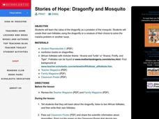 Stories of Hope: Dragonfly and Mosquito Lesson Plan