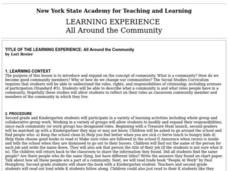 All Around the Community Lesson Plan