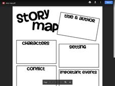 Story Map Printables & Template
