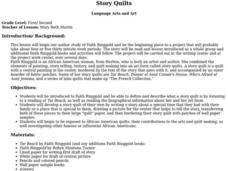 Story Quilts Lesson Plan