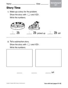 Story Time Worksheet